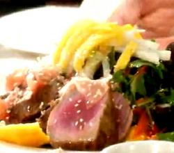 Seared Ahi Tuna with Salad