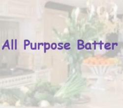 All Purpose Batter