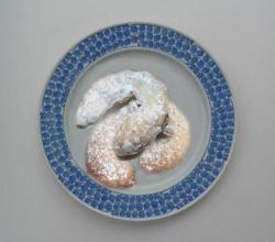 Snow Covered Almond Crescents