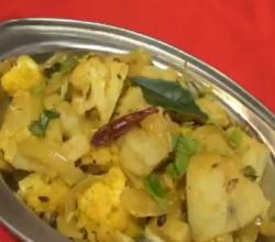 Aloo Gobi Masala Fry - Cauliflower & Potato Fry