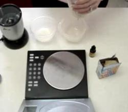 Weight Watchers Protein Icecream - Part 1 : Preparing the icecream