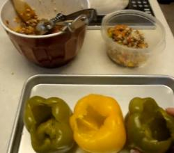 Stuffed Peppers for the Weight Watchers