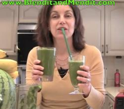 Anti Aging Green Vegetable Smoothie