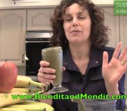 Anti Aging Banana, Avocado and Vegetable Smoothie