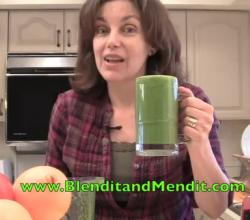 Anti Aging Greens Smoothie for Beautiful Skin