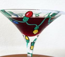 Super Antioxidant Pomegranate Martini