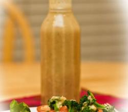 Apple and Almond Vinaigrette Salad Dressing