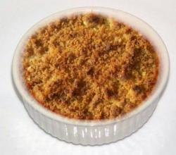 Banana and Orange Crumble