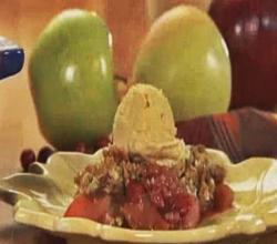 Apple Berry Crisp Dessert