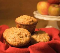 Fresh Apple Cider Muffins