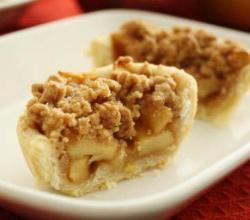 Apple Shortbread Crumble