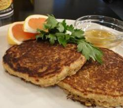 Dairy-Free Applesauce and Oatmeal Pancake