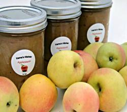 How to Make and Can Applesauce