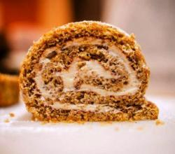 Applesauce Cake Roll