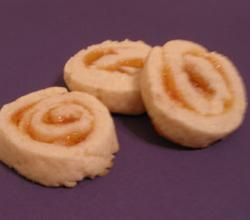Apricot Pinwheel Slices