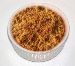 Apricot And Banana Crumble