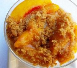 Apricot Crumble