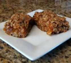 Apricot Oat Bars