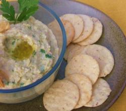 Creamy Artichoke and White Bean Dip