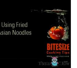 Different ways of Using Fried Noodles
