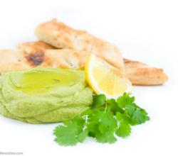 Avocado and Cilantro Hummus