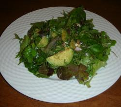 Appetizer Avocado Salad