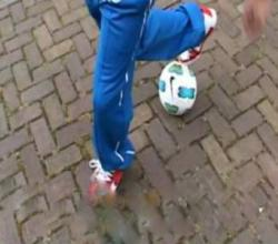Awesome Street Football Tricks - Fifa Street 4 Event in Amsterdam