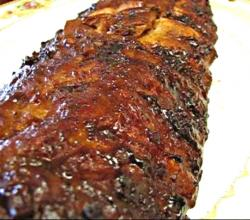 Betty's Barbecued Baby Back Ribs - Full 4th of July Dinner Shown!