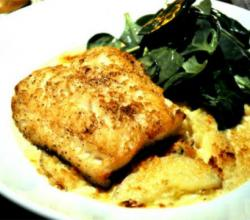 Baked Fish Mozzarella