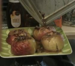 Baked Cinnamon Flavored Apples