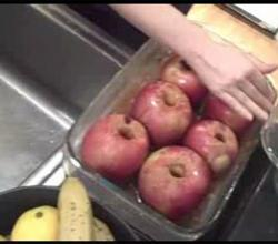 Baked Apples and Homemade Whip Cream - Part 1 : Preparation