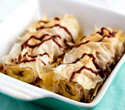 Baked Bananas In Phyllo