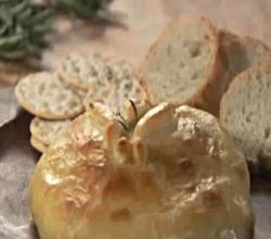Baked Camembert with Fruit Appetizer