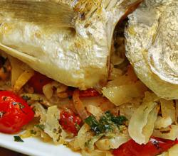 Baked Whole Fish with Fennel