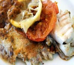 Baked Fish with Moroccan Charmoula