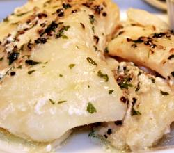 Baked Orange Halibut