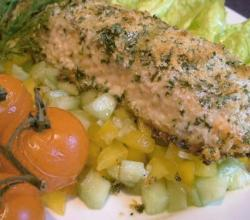 Baked Orange Roughy