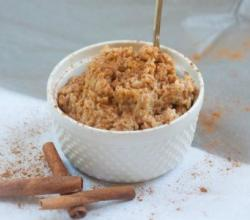 Bambara Peanut Butter Rice Pudding