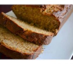 Brown Sugar Baked Banana Bread