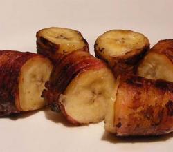 Bananas Wrapped In Bacon