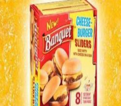 Banquet Cheeseburger Sliders Review