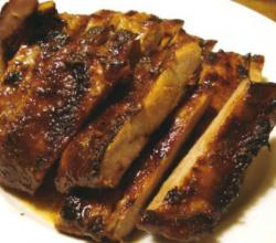 Spicy Barbecued Spareribs