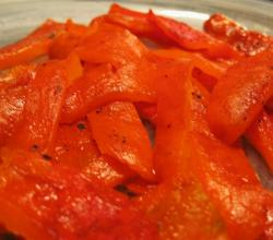 Basil Roasted Peppers