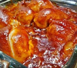 Baked Bar Barbecue Chicken