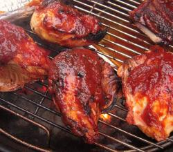 Sweet & Spicy Barbeque Chicken