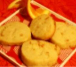 Orange Shortbread: Cookie Jar