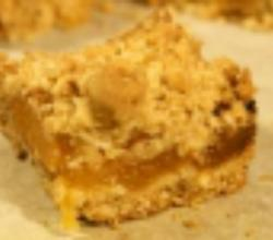 Apricot Squares: Cookie Jar