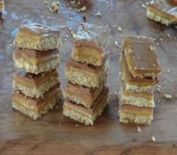 Becca's Caramel Slice - Caramel, Chocolate & Coconut Bars