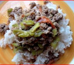 Beef  Ampalaya - Filipino Beef with Bitter Melon