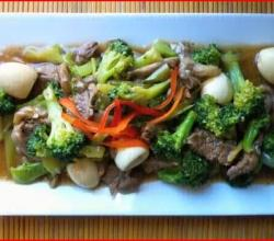 Filipino Beef Mushroom Broccoli Stir Fry